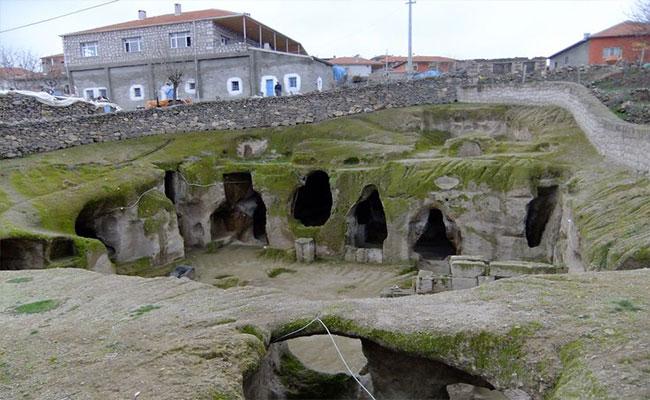 gaziemir yeraltı şehri 1