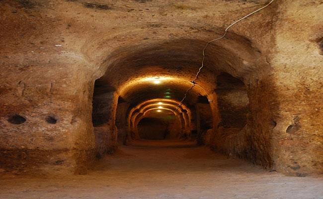 gaziemir yeraltı şehri 3