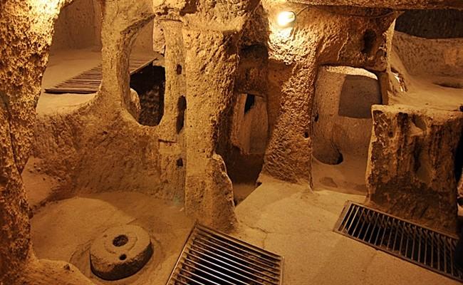 kapadokya yeraltı şehirleri