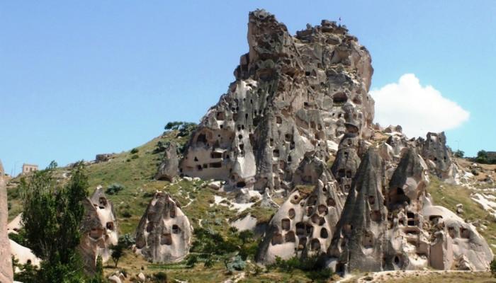 Uçhisar Kalesi 1. Fotoğraf