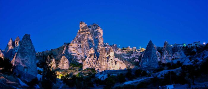 Kapadokya Uçhisar Fotoğrafı