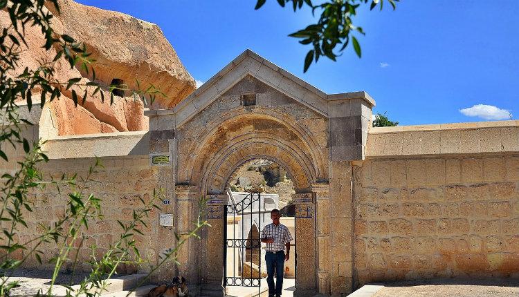 Mustafapaşa gezilecek yerler Aziz Nikolaos Manastırı