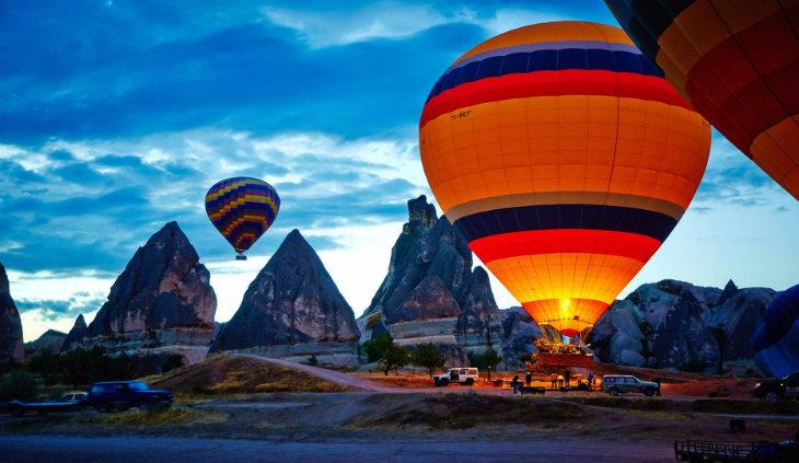 Kapadokya'da yapılabilecek aktiviteler - Balon turu