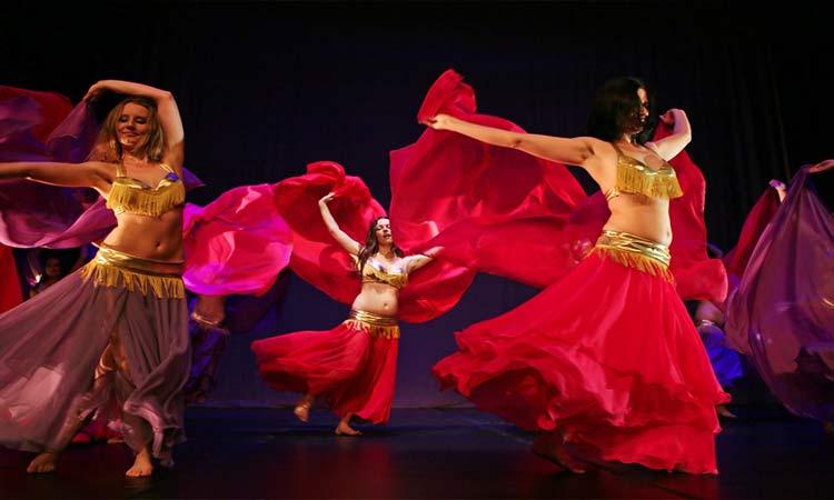 kapadokya dansöz