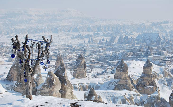 kapadokya kış manzaraları 1