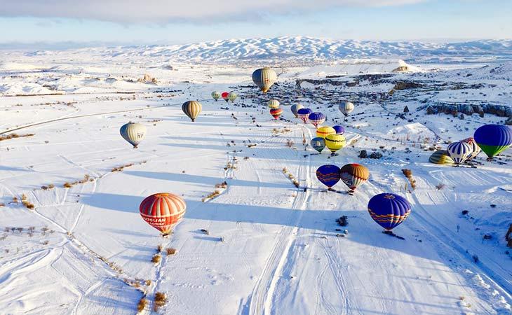 kapadokya kış manzaraları 2