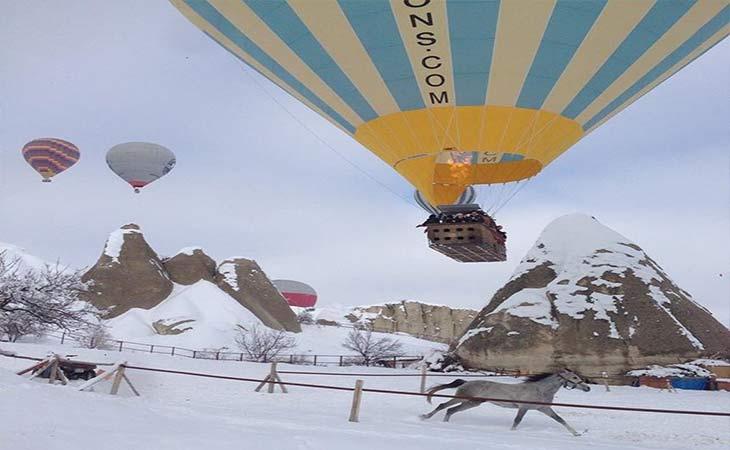 kapadokya kış manzaraları 3