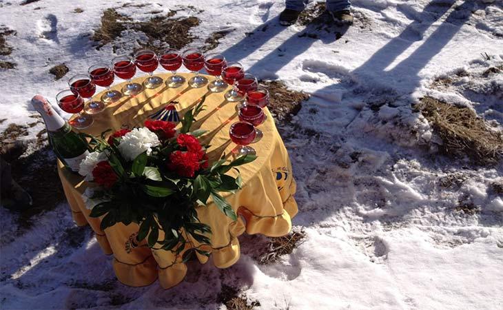 kapadokya kış ve şarap
