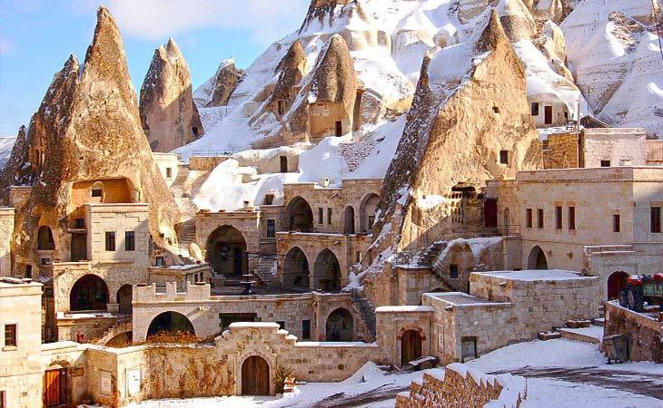 kapadokya kış manzarası 8