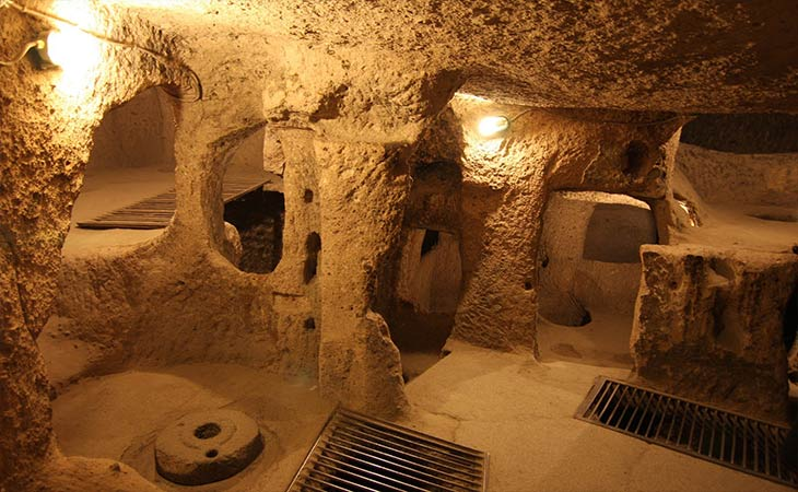 üzümlü-kilisesi-kaymaklı-yeraltı-şehri