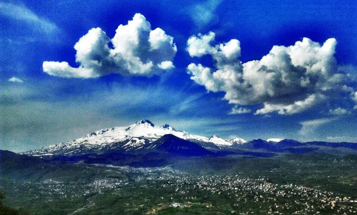erciyes dağı kapadokya