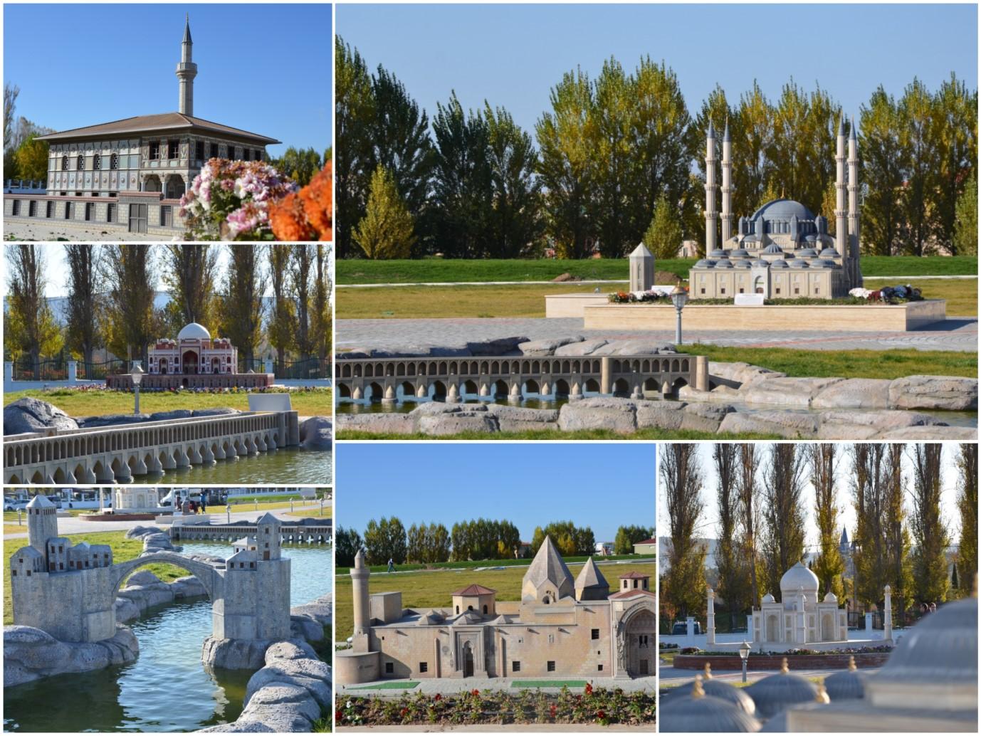 Moskovadaki Japon bahçesi görülmeye değer