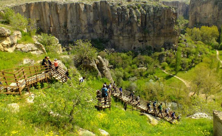 Kapadokya Yeşil Tur - Ihlara Vadisi