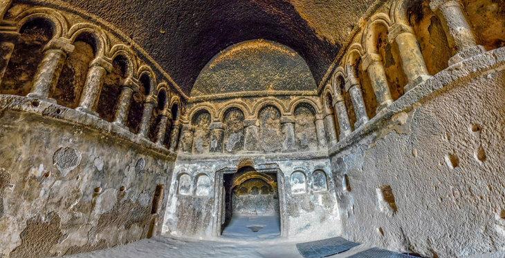 Kapadokya Yeşil Tur - Selime Manastırı
