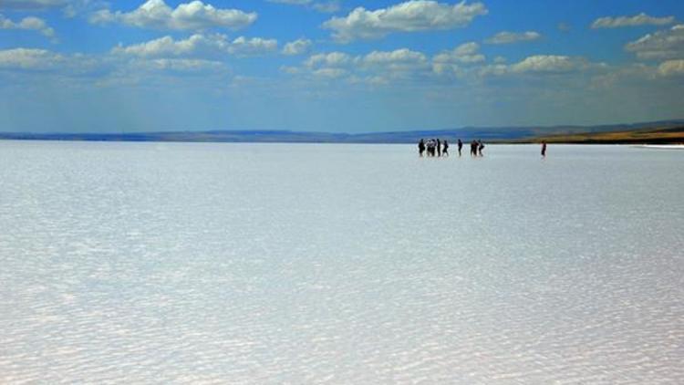 Tuz gölü insanlar