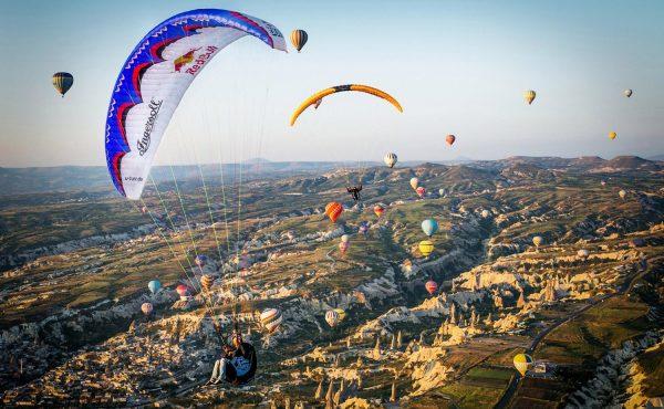 paragliding kapadokya