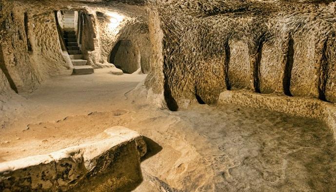 Cappadocia blue tour Kaymaklı Underground City