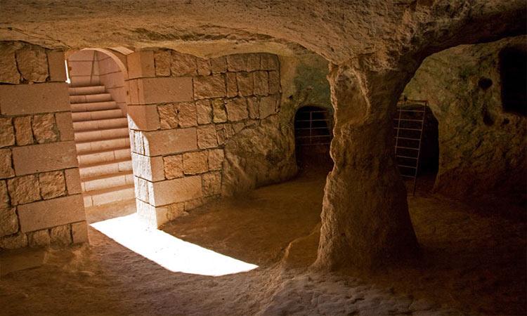 Underground cities in Cappadocia Attractions